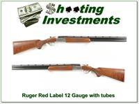 Ruger Red Label 12 Gauge Exc Cond XX Wood!