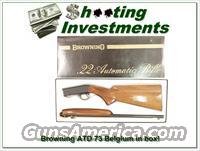 Browning ATD 22 auto 73 Belgium in box!