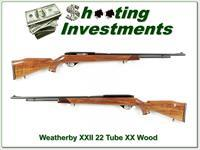 Weatherby XXII 22 auto Tube XX Wood!