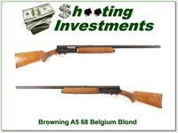 Browning A5 Light 12 68 Belgium Honey Blond VR