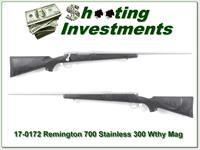 Remington 700 BDL Stainless in 300 Weatherby Magnum!