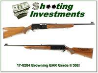 Browning BAR Grade II 308 70 Belgium blond near NEW!