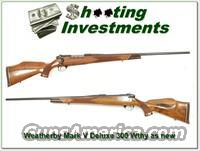 Weatherby Mark V Deluxe 300 Wthy Mag Exc Cond