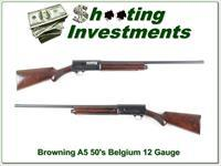 Browning A5 1953 Belgium 12 Gauge Restored