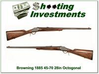Browning 1885 45-70 28in Octagonal barrel