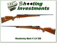 Weatherby Mark V Deluxe LH 300 Exc Cond!