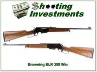Browning BLR in the hard to find 348 Win 20 in