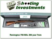 Remington 700 200th year Commemorative 7mm NIB