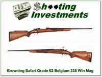 Browning Safari Grade 338, 1962 Belgium long extractor!