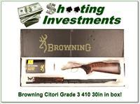 Browning Citori 625 Sporting 410 Gauge 32 in Exc Cond in box!