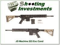 JD Machine TR 1 with 223 Ares Armor upper AR-15