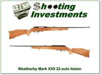 Excellent collector condition early Weatherby XXII 22LR