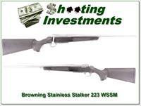 Browning A-bolt II Stainless Stalker in 223 WSSM