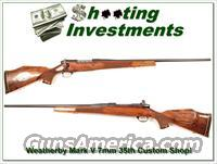 Weatherby Mark V 7mm 35th Anniversary Custom Shop!