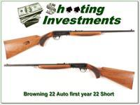 Browning 22 SHORT RARE first year Thumbwheel A580!