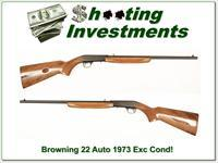 Browning 22 Auto 1973 made Exc Cond!