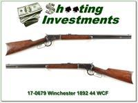 Winchester 1892 in rare 44 WCF made in 1903!