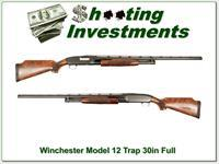 Winchester Model 12 Trap XX Wood 30in Full