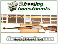 Browning BAR 7mm Grade 4 1971 Belgium ANIB