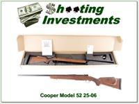 Cooper Model 52 25-06 Jackson Game Rifle AAA Wood!