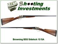 Browning BSS Sidelock 12 Ga as new!