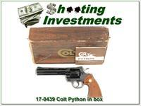 Colt Python 6in polished blue Collector!