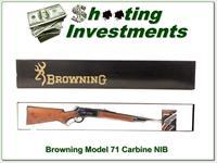 Browning Model 71 348 Win 20in Carbine NIB!