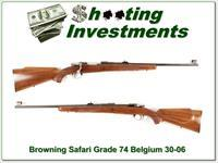 Browning Safari Grade 64 Belgium 30-06 collector!