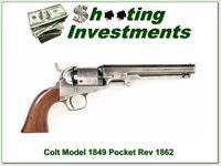 Colt Model 1849 Pocket Revolver made in 1862