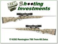 Remington 700 BDL 7mm-08 Custom w/ Swarovski!