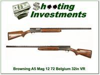 Browning A5 Magnum 12 72 Belgium 32in VR
