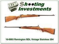 Remington 700 Vintage Stainless 264 Win Mag Collector!