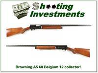 Browning A5 1960 Belgium 12 Gauge Collector VR!
