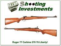 Ruger 77 Liberty 1976 270 Red Pad Exc Cond!