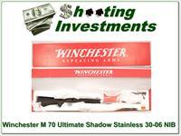 Winchester Model 70 Ultimate Shadow SS 30-06 NIB