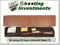 Browning A5 Sweet Sixteen Ducks Unlimited NIC