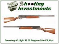 Browning A5 57 Belgium Light 12 VR 28in Mod