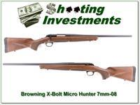 Browning X-Bolt Hunter Micro Midas 7mm-08