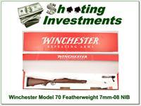 Winchester Model 70 Featherweight 7mm-08 NIB