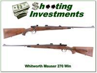 Whitworth Interarms Mauser Classic Safari 270 Win