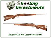 Sauer 90 Lux Laser Carved 270 Win as new!