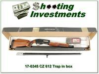 CZ 612 Trap 12 Gauge 32in Ported Trap Rib in box