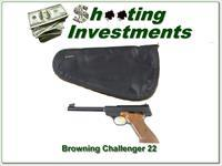 Browning Challenger 1967 Belgium Exc Cond in black pouch!