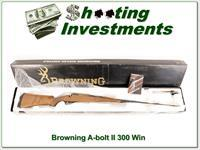 Browning A-bolt II 300 Win used in box