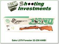 Sako L579 Forester 22-250 unfired in box!