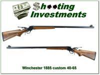 Winchester 1885 made in 1887 custom 40-65 target gun!