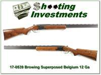 Browning Superposed 1971 Belgium made 12 Ga 28in