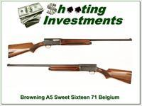 Browning A5 Sweet Sixteen 71 Belgium 28in Mod