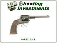 Harrington & Richardson H&R 922 22 Double Action