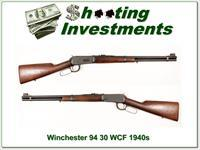 Winchester 1894 94 30 WCF Flat Band made in 1940s!